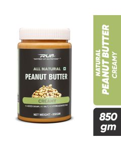 Ripped Up Nutrition Natural Peanut Butter Creamy 850g