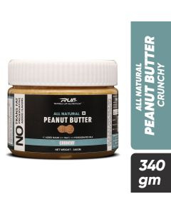 Ripped Up Nutrition Natural Peanut Butter Crunchy 340g