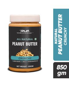 Ripped Up Nutrition Natural Peanut Butter Crunchy 850g