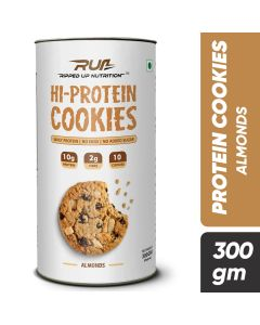Ripped Up Nutrition Protein Cookies Almonds (Pack of 10)
