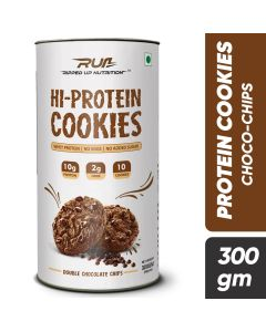 Ripped Up Nutrition Protein Cookies Choco-Chip (Pack of 10)