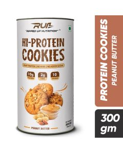 Ripped Up Nutrition Protein Cookies Peanut Butter (Pack of 10)