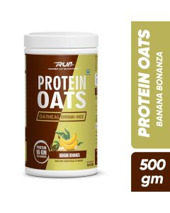 Ripped Up Nutrition Protein Oats Banana Bonanza 500g