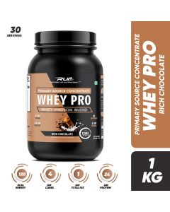 Ripped Up Nutrition Whey Pro Rich Chocolate 2.2lbs(1kg)