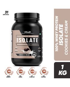 Ripped Up Nutrition Whey Protein Isolate Cookies & Cream 2.2lbs (1kg)