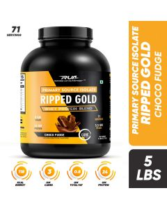 Ripped Up Nutrition Whey Ripped Gold Choco Fudge 5lbs (2.27kg)