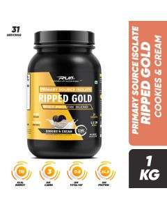 Ripped Up Nutrition Whey Ripped Gold Cookies & Cream 2.2lbs (1kg)