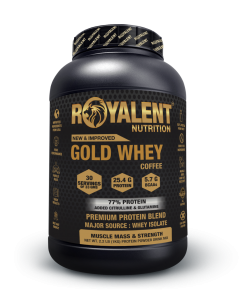 Royalent Gold 100% Whey Coffee 1kg
