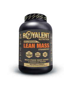 Royalent Lean Mass Gainer Strawberry 1kg