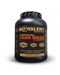 Royalent Lean Mass Gainer Strawberry 3kg