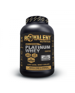 Royalent Platinum Whey Isolate Coffee 1kg