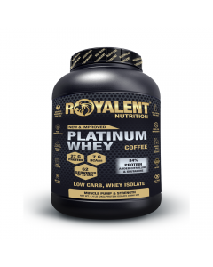 Royalent Platinum Whey Isolate Coffee 2kg