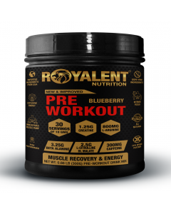 Royalent Pre-Workout Blueberry 300g