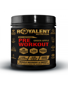 Royalent Pre-Workout Green Apple 300g