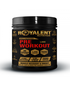 Royalent Pre-Workout Lime 300g