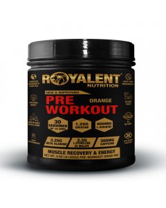 Royalent Pre-Workout Orange 300g