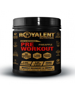 Royalent Pre-Workout Pineapple 300g