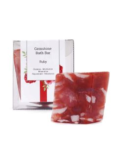 Seer Secrets Ruby Gemstone Bath Bar 160 Gm