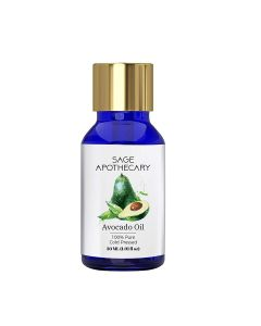 Sage Apothecary Avocado Oil 100% Pure Cold Pressed - 30ml