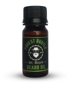 Saint Beard 100% Natural Beard Oil Forest Rustle For Shine And Growth 30 Ml