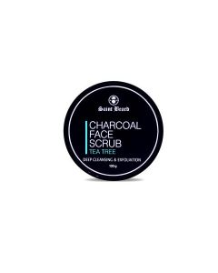 Saint Beard Charcoal Face Scrub For Deep Cleasing & Exfoliation 100 Gm