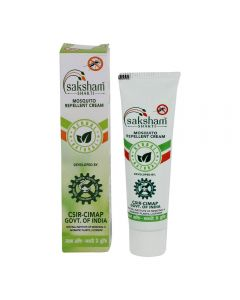 Saksham Herbals Mosaway Herbal Mosquito Repellent Cream, 10 gm