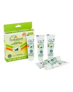 Saksham Herbals Mosaway Mosquito Repellent Cream, Pack of 5