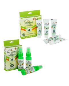 Saksham Herbals Mospray(Pack of 3, 90ml) and Mosaway(Pack of 5, 50gm) Combo