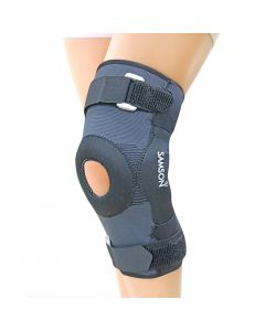 Samson Knee Cap Hinged With Open Patella Gel Pad (Deluxe) S