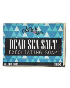 Mirah Belle Naturals Dead Sea Salt Exfoliating Soap 125gm