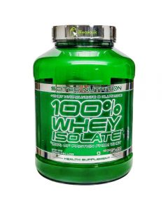 SCITEC 100% Whey Isolate v2.0 - 4.4 lbs (Chocolate)