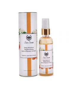 Seer Secrets Sedative Jasmine & Orange Deep Moisture Replenishing Bath & Shower Oil 100 Ml