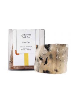 Seer Secrets Gold Ore Gemstone Bath Bar 160 Gm