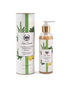Seer Secrets Lemon, Cypress & Japanese Mint Stimulating Soy Milk Enzyme Body Cleanser 200 ml