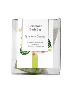 Seer Secrets Quantum Quattro Gemstone Bath Bar 160 Gm