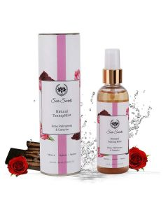 Seer Secrets Rose, Palmarosa & Catechu Natural Toning Mist 100 Ml