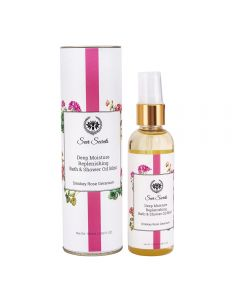Seer Secrets Smoky Rose & Geranium Deep Moisture Bath & Shower Oil 100 Ml