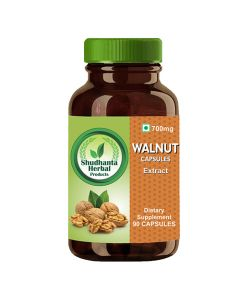 Shudhanta Herbal Walnut Extract 700mg - 90 Capsules