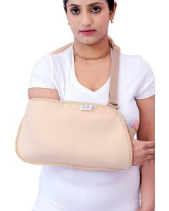 Shakuntla Arm Sling Pouch Hand Support - Arm Sling Gun Shape (Small)