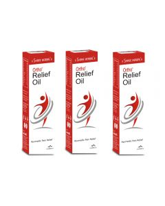 Shree Herbal Ortho Relief Oil - 120ml (Pack of 2)