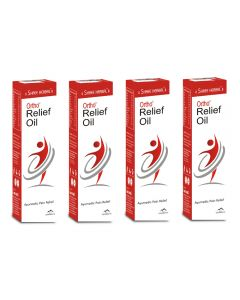Shree Herbal Ortho Relief Oil - 120ml (Pack of 3)