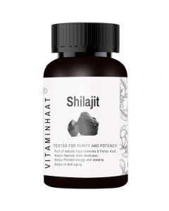 Vitaminhaat Shilajit Extract 500 mg - 90 Capsules
