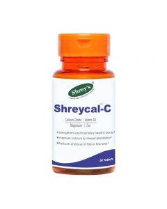Shrey's Shreycal-C for Strong Bones 60 Tabs
