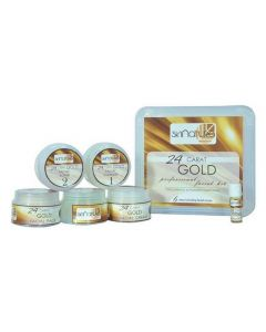 Skinatura 24 Carat Gold Professional Facial Kit (Pack of 6) 310 g