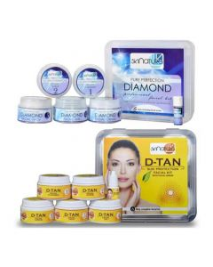Skinatura Diamond + Anti-Tan Facial Kit (Combo of 2 - 310 gm each) 310 g (Set of 2)