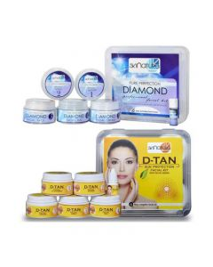 Skinatura Diamond + Anti-Tan Facial Kit (Combo of 2) 310 g (Set of 2)