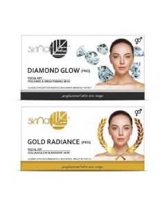 Skinatura Diamond Glow + Gold Radiance Facial Kit 230 g (Set of 2)
