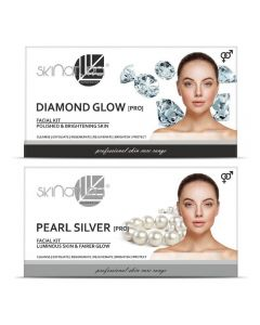 Skinatura Diamond Glow + Pearl Silver Facial Kit 230 g (Set of 2)