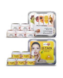 Skinatura Fruit + Anti-Tan Facail Kit (Combo of 2 - 310 gm each) 310 g (Set of 2)