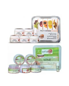 Skinatura Fruit Fairness + Wine Facial Kit (Combo of 2 - 310 gm each) 310 g (Set of 2)